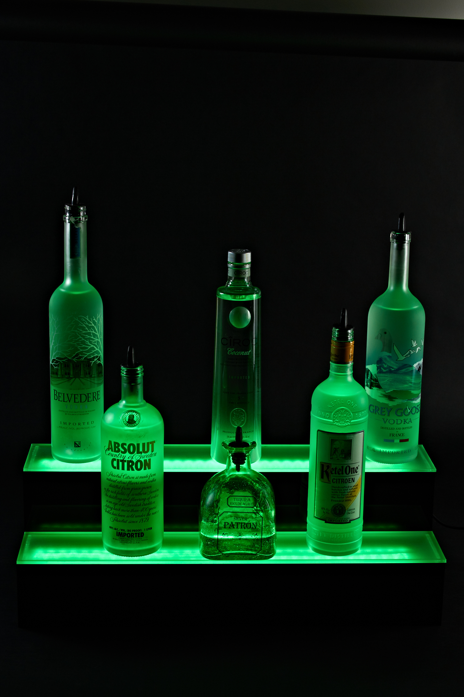 Armana LED 3 Tier Bottle Display